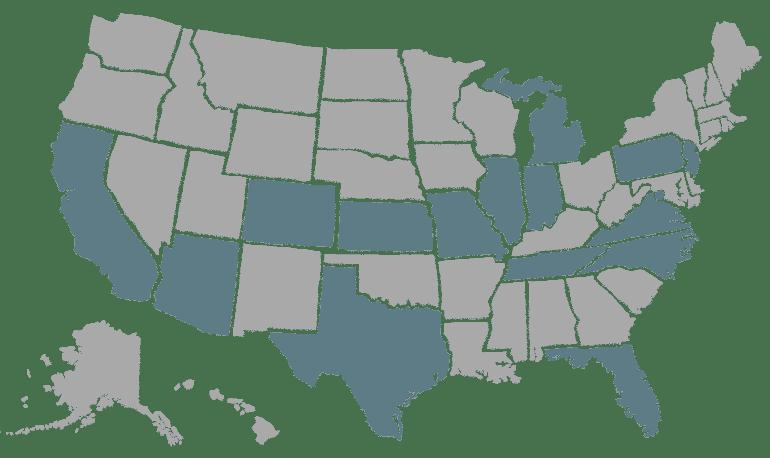 Franchise Location Map
