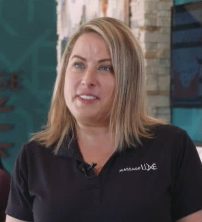 Rebecca Collins, MassageLuXe Franchise Owner